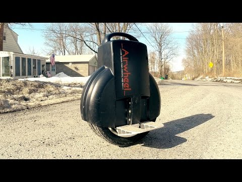 Airwheel Electric Unicycle Review & Test for Filmmakers