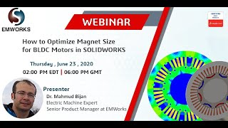 How to Optimize Magnet Size for BLDC Motors in SOLIDWORKS