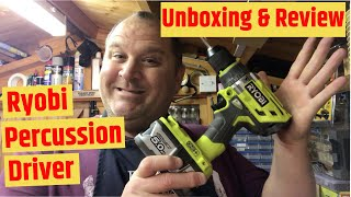 Unboxing & Reviewing: Ryobi (R18PD7-0) One + Percussion Drill