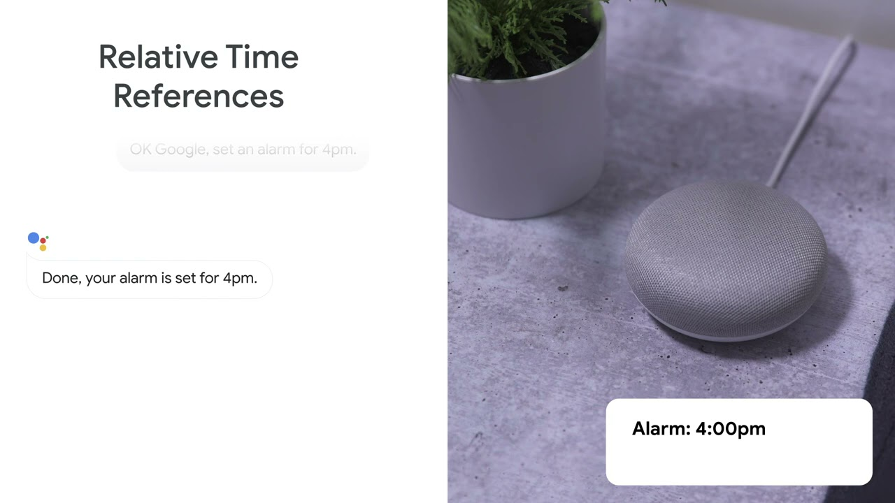Now your Google Assistant understands you better, making things like setting multiple alarms at once, seamless