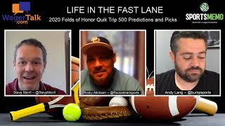 2020 Folds Of Honor QuikTrip 500 Predictions And Picks | NASCAR Odds | Life In The Fast Lane