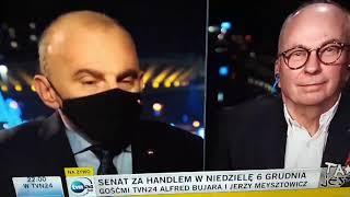 Szuriacka tyrada przewodniczącego Solidarności podczas wywiadu dla TVN24.