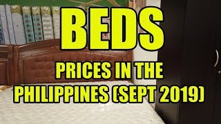 Beds. Prices In The Philippines.