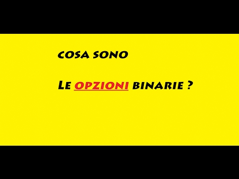 Strategie di opzioni binarie su q opton video