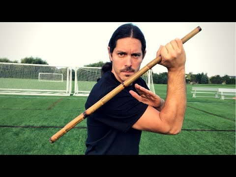 Stick fighting Drills for Control - Arnis Stick Techniques - YouTube