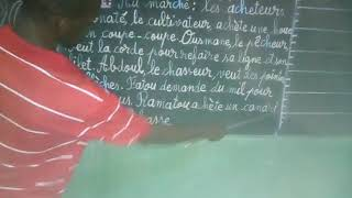 Buenos resultados del curso de alfabetización para adultos en Kanso