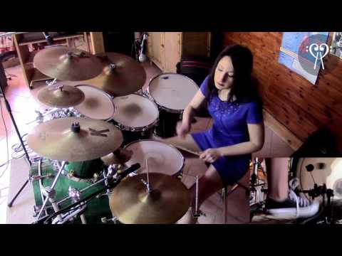 DIRE STRAITS - MONEY FOR NOTHING - DRUM COVER by CHIARA
