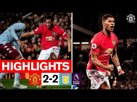Highlights | Manchester United 2-2 Aston Villa | 2019/20 Premier League