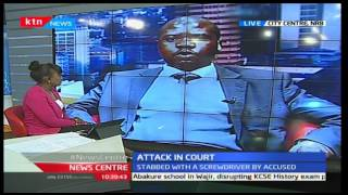NewsCenter: CJ David Maraga condemns attack on Magistrate in court 23/11/2016