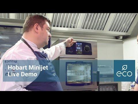 Hobart Minijet Combi Oven Live Demo