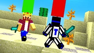 МЫ С АИДОМ ВЗЯЛИ СЕБЕ ПО ФЛАГУ - Битва Замков в Minecraft