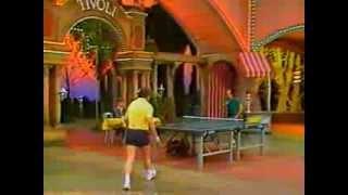 Table Tennis Secretin TT Show bei Rudi Carell