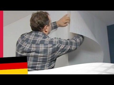 Installation von Novelio ® EasyFix - die selbstklebende Tapete