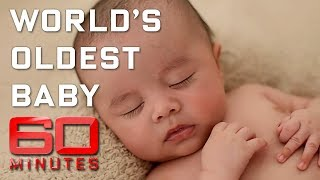 Meet the world's oldest baby - created with 23-year-old sperm | 60 Minutes Australia