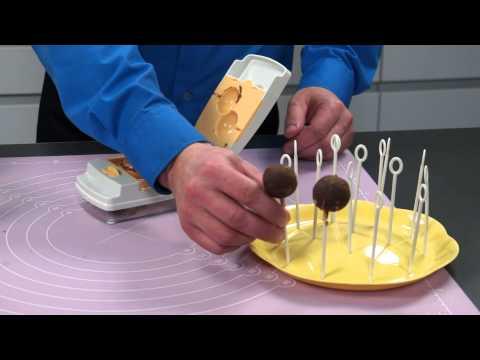 Video Tescoma DELÍCIA tvořítka na cake pops, 6 tvarů 630876 2