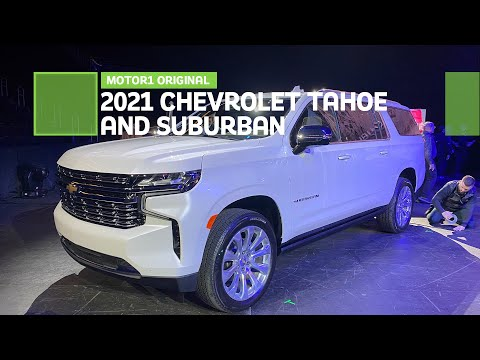 External Review Video bA4iN7voa7M for Chevrolet Tahoe & Suburban SUV (5th Gen)