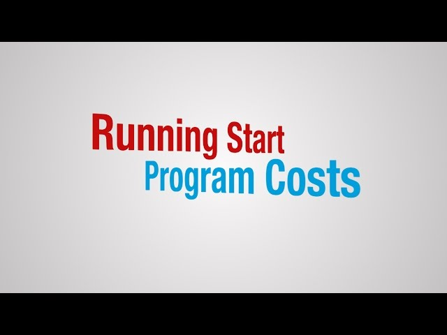 Running Start Program Costs