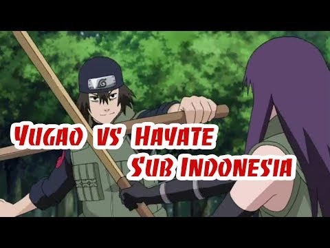 Yugao vs Hayate Sub Indonesia ★ Fan Naruto