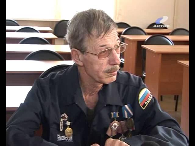Ангарские спасатели отметили профессиональный праздник