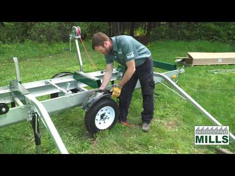 video thumbnail for Woodlander Log Loading Ramp & Winch Kit