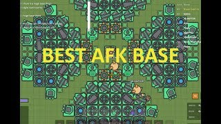 ZOMBS IO- BEST AFK BASE EVER // 4 PLAYERS AFK FOREVER (new