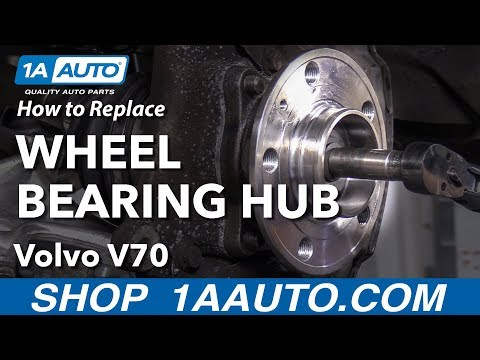 How to Replace Wheel Bearing & Hub Assembly 01-07 Volvo V70