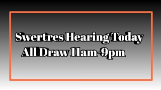 Top Five Hearing Swertres August 21 2018 - Circus