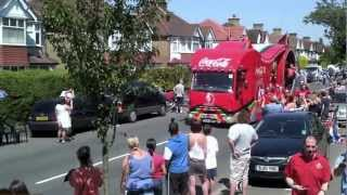 preview picture of video 'Olympic Torch through Carshalton'