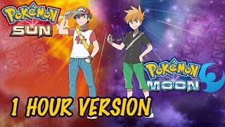 Red & Blue Battle Theme - 1 HOUR - Pokémon Sun & Moon OST