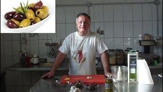 Olivenpaste Tapenade brotaufstrich schnell und einfach zubereiten