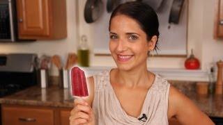 Homemade Yogurt Popsicle Recipe - Laura Vitale - Laura in the Kitchen Episode 432