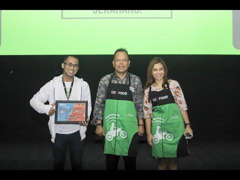 Fresh! Fun Speech dari Pemimpin Cabang BRI Jakarta Tanah Abang di Acara RKB BRI Jakpus X Gofood