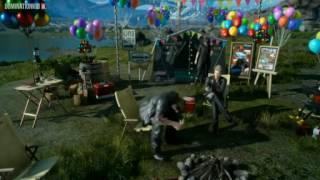 FINAL FANTASY XV  EVE PARTY SPECIAL GAMEPLAY   MYSTERY DISC English Sub