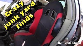 CRAZY JUNK YARD FINDS  (JDM CARS )
