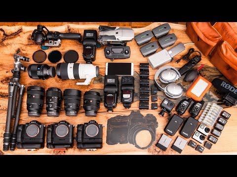 What's in my bag - EPIC Sony edition