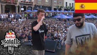ELOY 393 vs WALLS - Octavos: Barcelona, España 2018 | Red Bull Batalla De Los Gallos