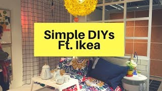 Home Decor DIY Ideas - Ikea Inspired - Easy And Budget Friendly