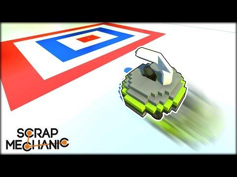 Car Curling on Frictionless ICE Blocks! (Scrap Mechanic Multiplayer Monday)