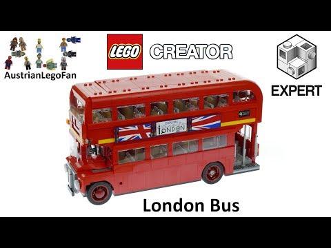 Vidéo LEGO Creator 10258 : Le bus londonien