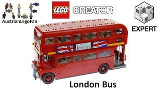 Lego Creator 10258 London Bus - Lego Speed Build Review