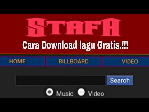 Cara mendownload lagu di StafaBand