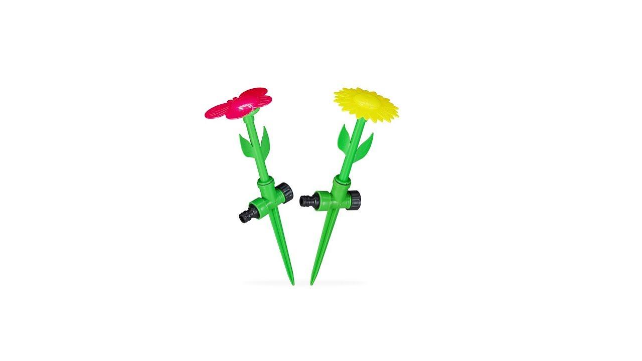 Video von: Sprinkler Blume 2er Set