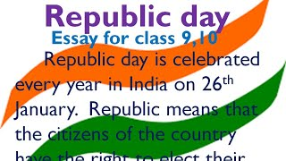 Synthesis Essay Ideas Republic Day Essay In English  January Essay By Smile Please Kids Essay English Spm also Examples Of Thesis Statements For Argumentative Essays Short Essay On Republic Day  Free Video Search Site  Findclip Thesis Essay Topics