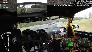 BMW CCA Club Racing VIR 4/7/2019 Feature