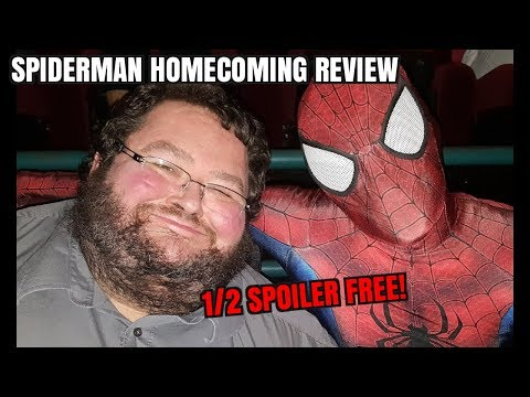 Spiderman Home Coming REVIEW! SPOILER FREE FIRST HALF!