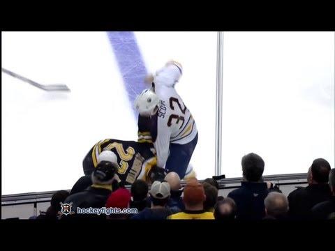 Shawn Thornton vs. John Scott
