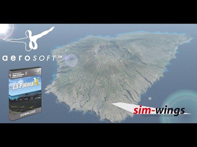 simMarket: AEROSOFT - LA PALMA X FSX P3D (DOWNLOAD)