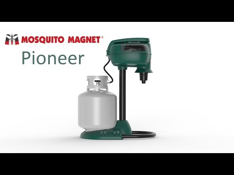 Mosquito Magnet Pioneer myggfelle - film på YouTube