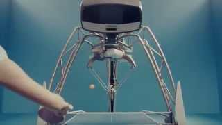 اليابان تطور روبوتا جديدا لتعليم البينج بونج