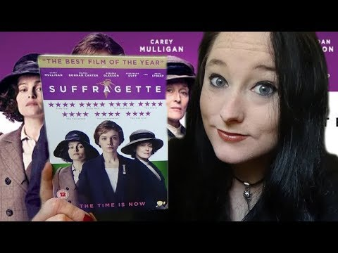 Relaxing Tingly ASMR Unboxing SUFFRAGETTE DVD! | Amy McLean